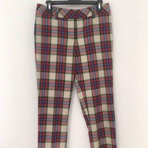 Lands' End Plaid Pants